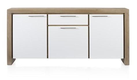 Kozani, buffet 3-portes + 1-tiroir - 185 cm-1