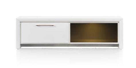 Kozani, meuble tv 1-tiroir + 1-niche - 140 cm-1