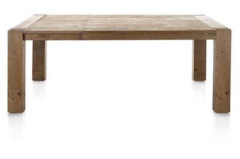 Santorini, extendible dining table 160 (+ 45) x 140 cm-1