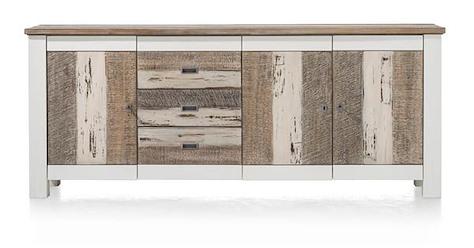 Tibro, sideboard 3-doors + 3-drawers - 210 cm-1