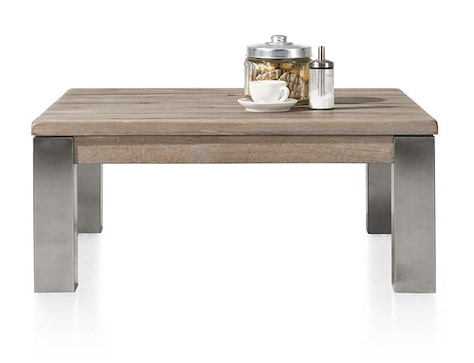 Masters, table basse 90 x 90 cm - inox 9x9