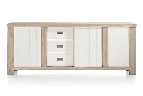 Istrana, sideboard 2-doors + 1-sliding door + 3-drawers - 230 cm-1