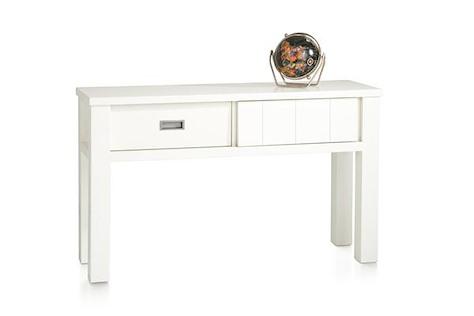 Istonia, side table 130 x 40 cm + 1-sliding door + 1-drawer-1