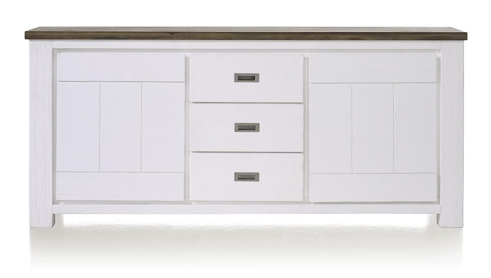 Deaumain, dressoir 2-deuren + 3-laden - 190 cm