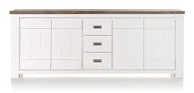 Deaumain, dressoir 4-deuren + 3-laden - 220 cm