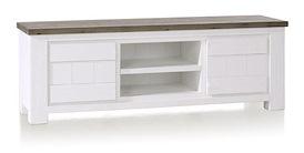 Deaumain, tv-dressoir 2-deuren + 2-niches - 160 cm