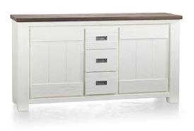 Deaumain, onderkast buffet / dressoir 2-deuren + 3-laden - 160 cm