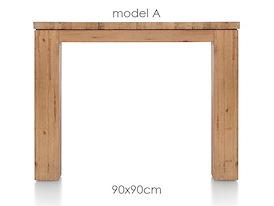A La Carte, eetkamertafel 90 x 90 cm - AAD