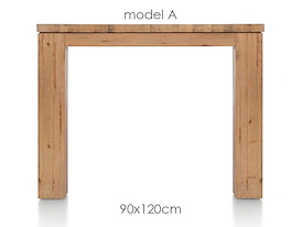 A La Carte, eetkamertafel 120 x 90 cm - AAD