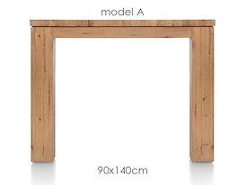 A La Carte, eetkamertafel 140 x 90 cm - AAD