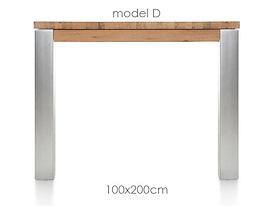 A La Carte, eetkamertafel 200 x 100 cm - DIRK