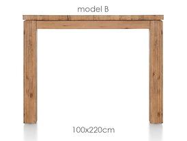 A La Carte, eetkamertafel 220 x 100 cm - BEN