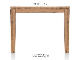 A La Carte, eetkamertafel 220 x 100 cm - COR
