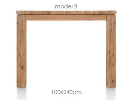 A La Carte, eetkamertafel 240 x 100 cm - BEN