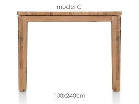 A La Carte, eetkamertafel 240 x 100 cm - COR
