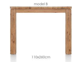 A La Carte, eetkamertafel 260 x 110 cm - BEN