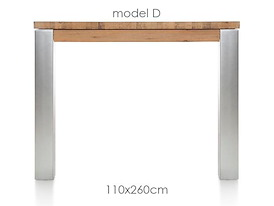 A La Carte, eetkamertafel 260 x 110 cm - DIRK