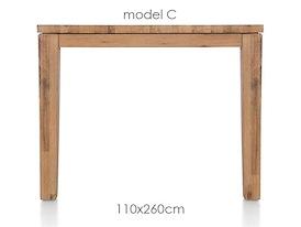 A La Carte, eetkamertafel 260 x 110 cm - COR