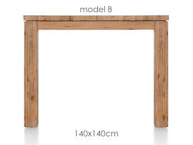 A La Carte, eetkamertafel 140 x 140 cm - BEN