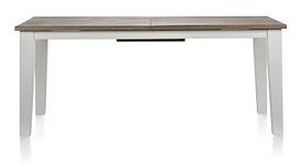 Malton, uitschuiftafel 190 (+ 50) x 100 cm