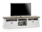 Mallorca, tv-dressoir 2-manden + 5-niches - 180 cm