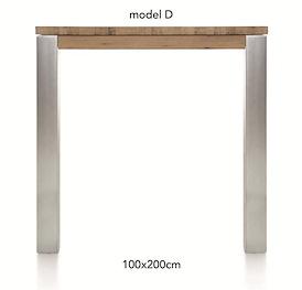 A La Carte, bartafel 200 x 100 cm - DIRK