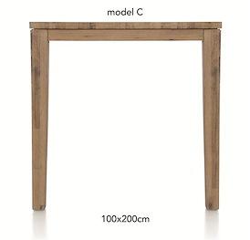 A La Carte, bartafel 200 x 100 cm - COR