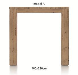 A La Carte, bartafel 220 x 100 cm - AAD