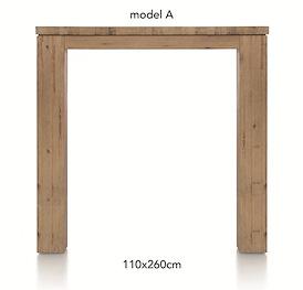 A La Carte, bartafel 260 x 110 cm - AAD
