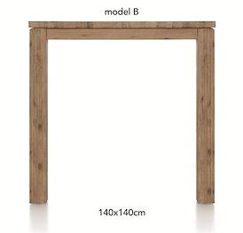 A La Carte, bartafel 140 x 140 cm - BEN