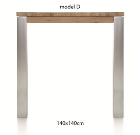 A La Carte, bartafel 140 x 140 cm - DIRK