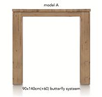 A La Carte, uitschuif-bartafel 140 (+ 60) x 90 cm - AAD