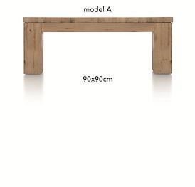 A La Carte, salontafel 90 x 90 cm - AAD