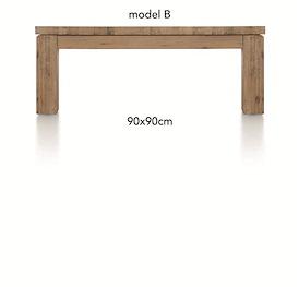 A La Carte, salontafel 90 x 90 cm - BEN