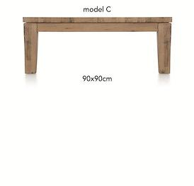 A La Carte, salontafel 90 x 90 cm - COR