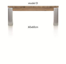 A La Carte, salontafel 60 x 60 cm - DIRK