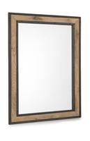 Borneo, spiegel 70 x 100 cm