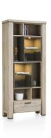 Coiba, boekenkast 1-lade + 10-niches (+ LED)