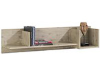 Coiba, wandplank 3-niches - 120 cm