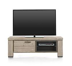 Coiba, tv-dressoir 130 cm - 1-klep + 2-niches