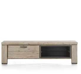 Coiba, tv-dressoir 160 cm - 1-klep + 2-niches
