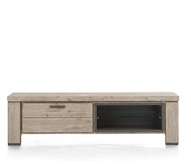 Coiba, tv-dressoir 160 cm - 1-klep + 2-niches