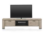Coiba, tv-dressoir 190 cm - 1-klep + 1-lade + 2-niches