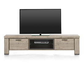 Coiba, tv-dressoir 1-klep + 1-lade + 2-niches - 190 cm