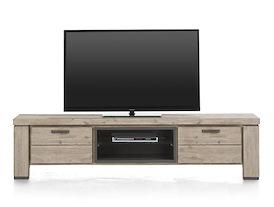 Coiba, tv-dressoir 1-klep + 1-lade + 2-niches - 190 cm
