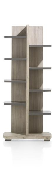 Coiba, boekenkast 10-niches knock-down - 75 cm