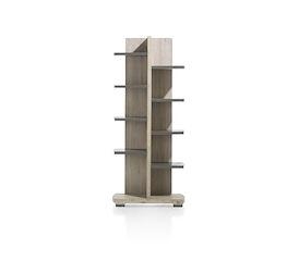 Coiba, boekenkast 75 cm - 10-niches knock-down