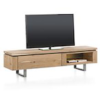 Ajezi, tv-dressoir 180 cm - 1-klep + 2-niches (+ LED)