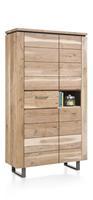 Ajezi, bergkast 4-deuren + 1-lade + 1-niche - 110 cm