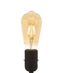 Led E-27 - warm golden